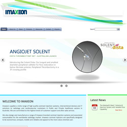 Imaxeon website screenshot