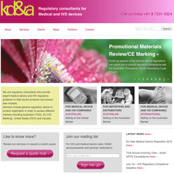 KDAS new website