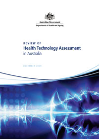 Review of HTA in Australia first page