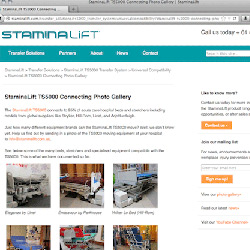 Staminalift new website